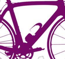 Bike Purple (Big) Sticker