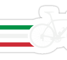 Bike Stripes Italian National Road Race v2 Sticker