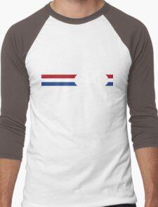 Bike Stripes Netherlands National Road Race Men's Baseball ¾ T-Shirt