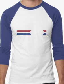 Bike Stripes Netherlands National Road Race Men's Baseball ¾ T-Shirt