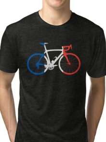 Bike Flag France (Big) Tri-blend T-Shirt