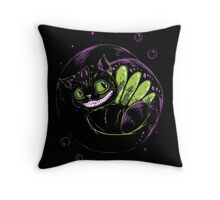 Cheshire Express Throw Pillow