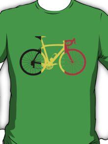 Bike Flag Belgium (Big) T-Shirt