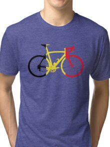 Bike Flag Belgium (Big) Tri-blend T-Shirt