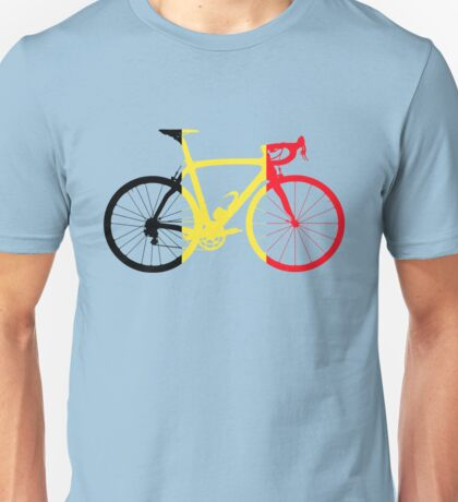 Bike Flag Belgium (Big) Unisex T-Shirt