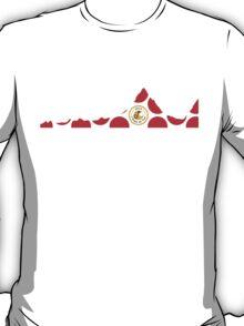 Red Polka Dot 2014 L'Etape du Tour Mountain Profile T-Shirt