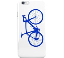 Bike Blue (Big) iPhone Case/Skin