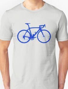 Bike Blue (Big) Unisex T-Shirt