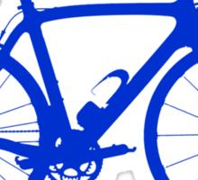 Bike Blue (Big) Sticker