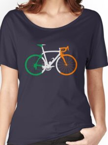 Bike Flag Ireland (Big) Women's Relaxed Fit T-Shirt