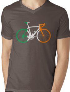 Bike Flag Ireland (Big) Mens V-Neck T-Shirt
