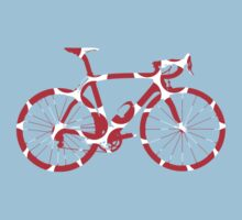 Bike Red Polka Dot (Big) by sher00