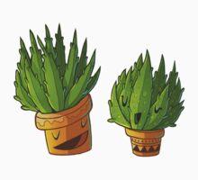 Aloe vera couple One Piece - Long Sleeve