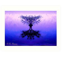 Tree of Reflection Art Print