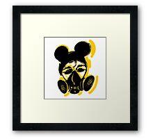 Toxic Rock Framed Print