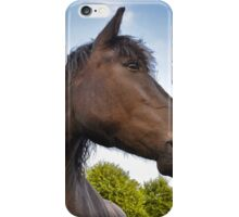 Hey, make sure you get my good side! iPhone Case/Skin