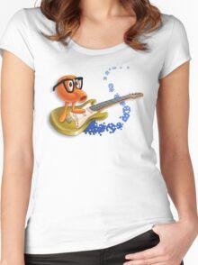 80z Allstars QBert Women's Fitted Scoop T-Shirt