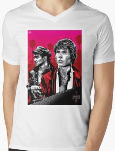 Thrashin' Mens V-Neck T-Shirt