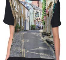 The streets of Robin Hood's Bay Chiffon Top