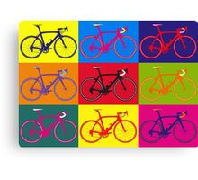 Bike Andy Warhol Pop Art Canvas Print