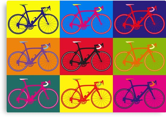 Bike Andy Warhol Pop Art by sher00