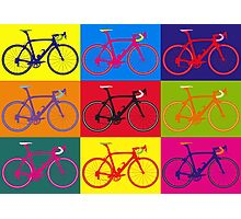 Bike Andy Warhol Pop Art Photographic Print