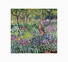Claude Monet - The Artist s Garden In Giverny 1900  Unisex T-Shirt