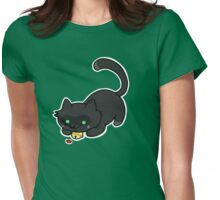 Ladybug and the cat Womens Fitted T-Shirt