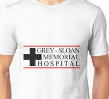 Grey Sloan Logo Hospital Greys Anatomy Unisex T-Shirt