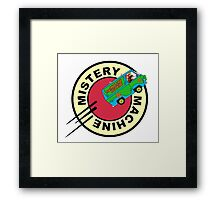 MISTERY MACHINE EXPRESS Framed Print