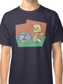 Eyes on the prize Cat Classic T-Shirt