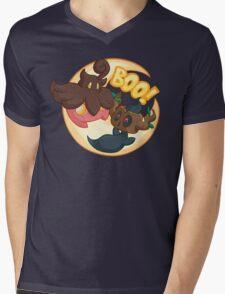 Boo! Mens V-Neck T-Shirt