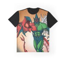 Yu-Gi-Oh! GX Elemental Hero Flame Wingman Graphic T-Shirt
