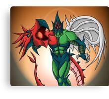 Yu-Gi-Oh! GX Elemental Hero Flame Wingman Canvas Print