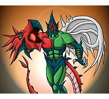 Yu-Gi-Oh! GX Elemental Hero Flame Wingman Photographic Print
