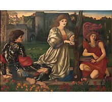 Edward Burne Jones - The Love Song 1877  Photographic Print