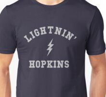 Lightnin' Hopkins Vintage College Lightning Bolt Logo Unisex T-Shirt