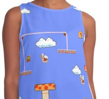 Mario In The Sky Contrast Tank