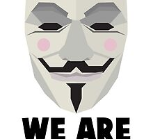 We Are Anonymous Shirt by mudhead