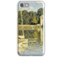 Claude Monet - Le Pont dArgenteuil (1874)  iPhone Case/Skin