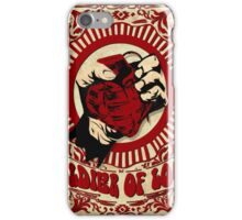 Soldier Of Love iPhone Case/Skin