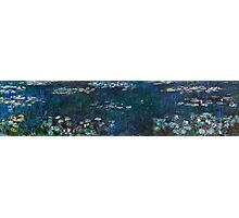 Claude Monet - The Water Lilies - Green Reflections (1915 - 1926)  Photographic Print