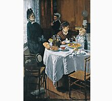 Claude Monet - The Luncheon (1868)  Unisex T-Shirt