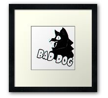 Bad Dog Framed Print