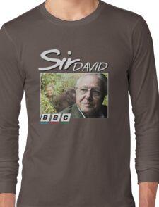 David Attenborough 90s Tee Long Sleeve T-Shirt
