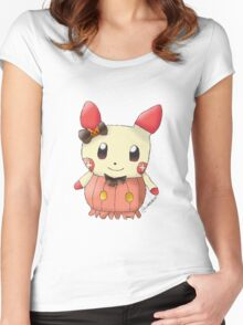 Halloween Plusle Women's Fitted Scoop T-Shirt