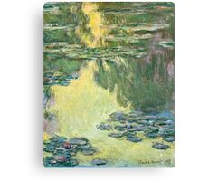Claude Monet - Waterlilies (1907)  Canvas Print