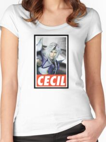(FINAL FANTASY) Cecil Women's Fitted Scoop T-Shirt