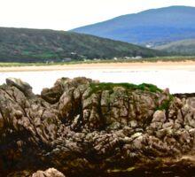 Craggy Rocks, Inishowen Peninsular, Donegal, Ireland Sticker