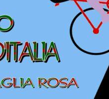 """GIRO D ITALIA BICYCLE"" Racing Advertising Print Sticker"